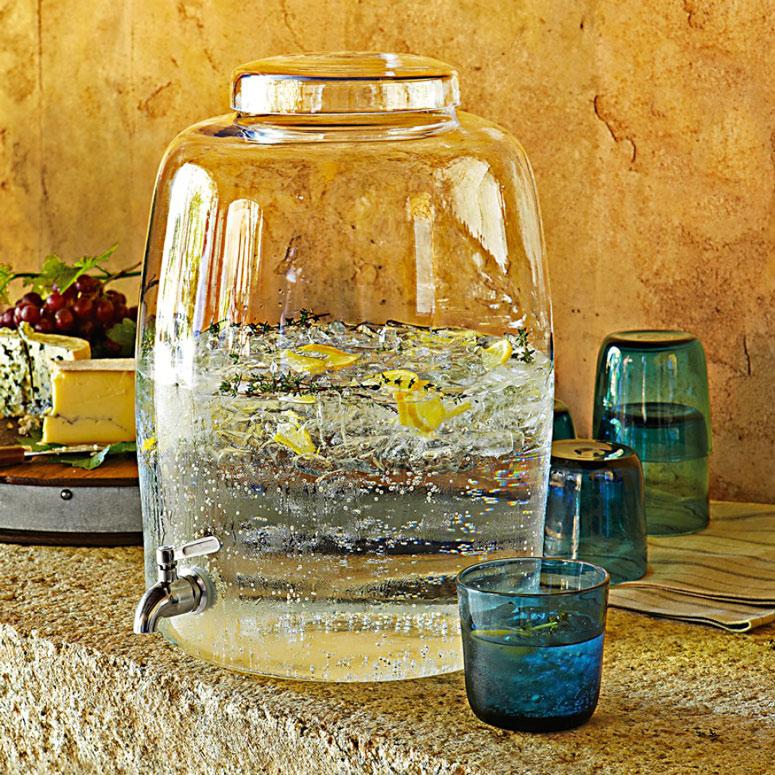 Glass Water Dispenser 5 gal