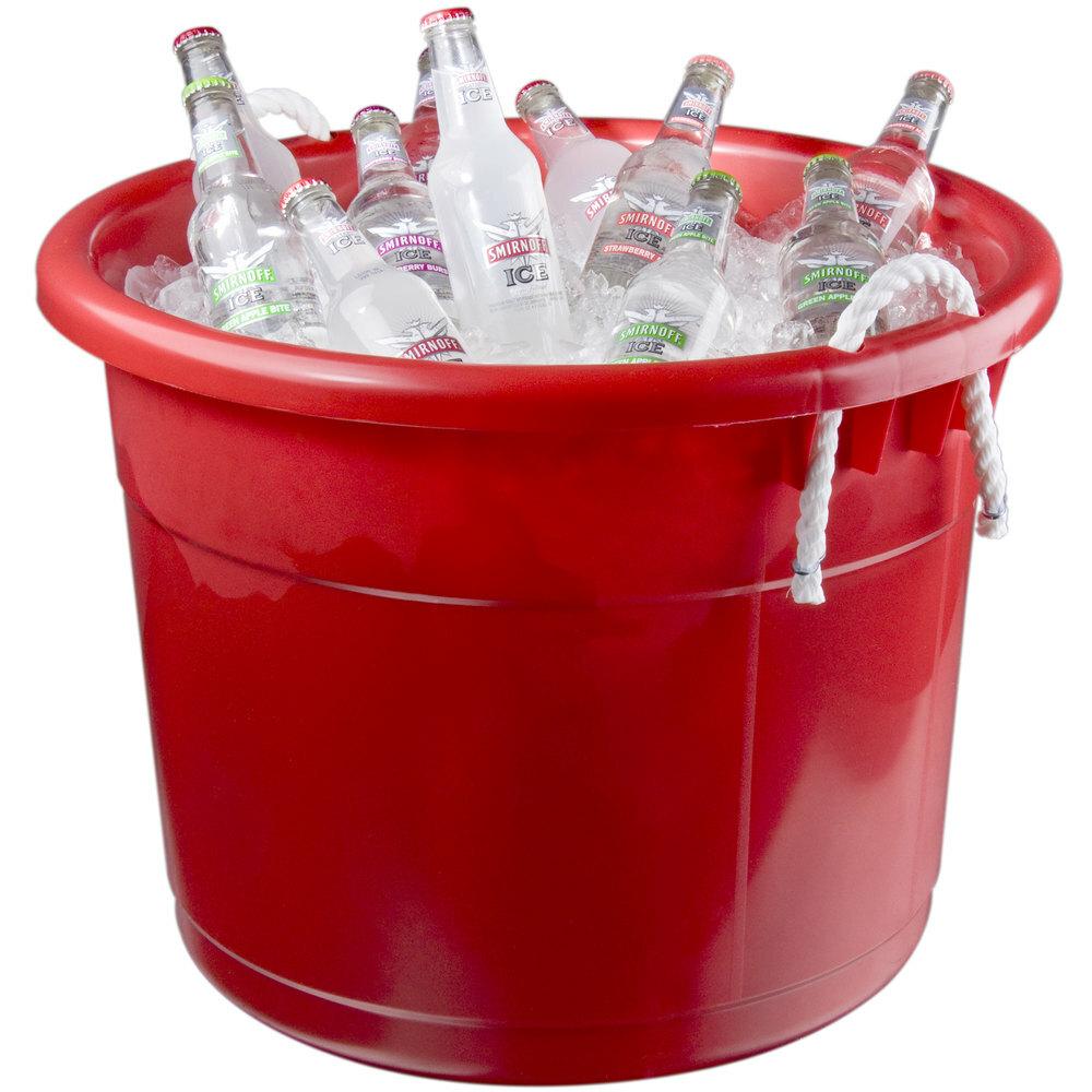 Red Bar Tub