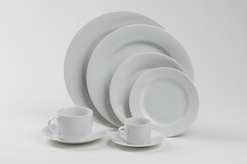 Royal White Circular Set